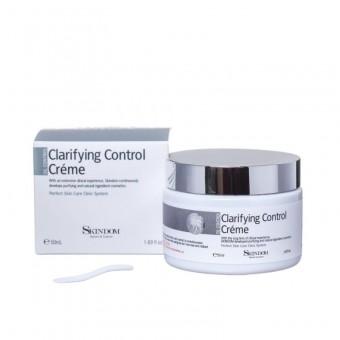 Skindom Clarifying Control Cream - Крем для лица с детокс-эффектом