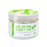 Aloe Soothing Beauty Pad Jumbo - Глубокоувлажняющие, успокаивающие и регенерирующие диски для лица с натуральным экстрактом Алоэ, Пантенолом и Аргинином
