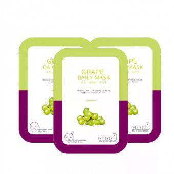 Wims8 Grape Daily Mask (10) - Маска с экстрактом винограда на нетканой основе