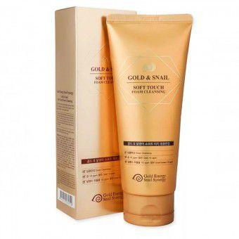J&G Cosmetics Gold Snail Foam Cleansing - Очищающая пенка для умывания с золотом и слизью улитки