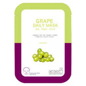 Wims8 Grape Daily Mask (1) - Маска с экстрактом винограда на нетканой основе