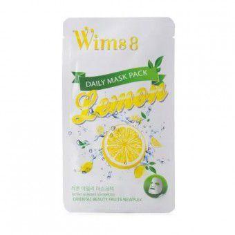 Wims8 Lemon Daily Mask (1) - Маска с экстрактом лимона на нетканой основе