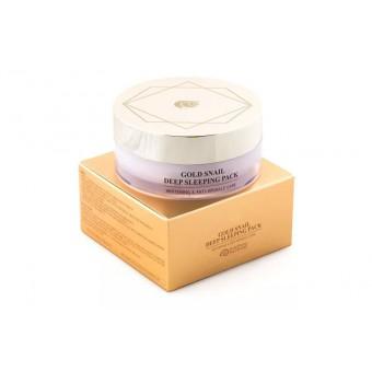 J&G Cosmetics Gold Snail Sleeping Pack - Ночная маска с золотом и слизью улитки