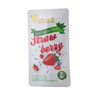 Wims8 Strawberry Daily Mask (1) - Маска с экстрактом клубники на нетканой основе