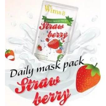 Wims8 Strawberry Daily Mask (10) - Маска с экстрактом клубники на нетканой основе