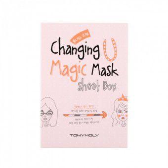 TonyMoly Changing U Magic Mask Sheet Box - Набор масок для лица