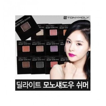 TonyMoly Delight Mono Shadow-Shimmer 15 pilgut Brown - Тени для век