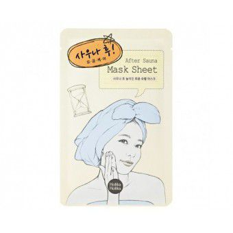 After Mask Sheet - Sauna