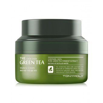 TonyMoly The Chok Chok Green Tea Watery Cream - Крем с экстрактом зеленого чая 60 мл