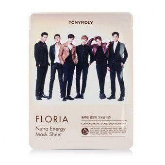 TonyMoly Floria Nutra Energy Mask Sheet - Тканевая маска с аргановым маслом