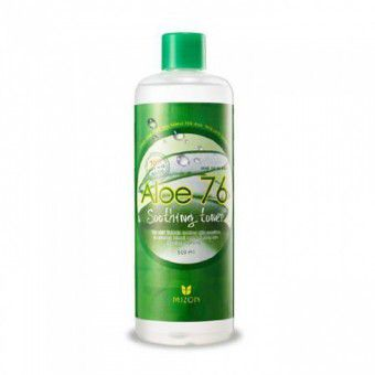 Mizon Aloe 76 Soothing Toner - Тонер с алое