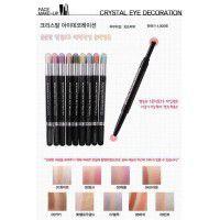 Crystal Lovely Eyes #6 Blue Beam - Подводка-карандаш для глаз