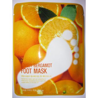 TonyMoly Lovely Bergamot Foot Mask - Маска для ног с бергамотом
