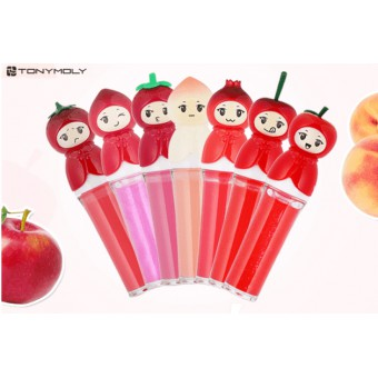 TonyMoly Fruit Princess Gloss3 - 06 Cherry Princess - Блеск для губ