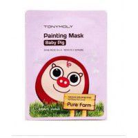 Pure Farm Painting Mask – Baby Pig - Маска тканевая