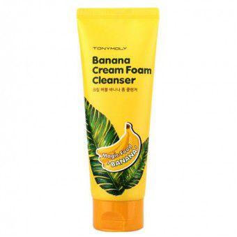 TonyMoly Magic Food Banana Cream Foam Cleanser - Крем-пенка для умывания банановая