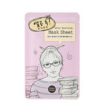 Holika Holika After Mask Sheet - Hard Study