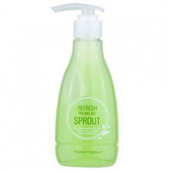 TonyMoly Refresh Peeling Gel Sprout - Мягкий пилинг-гель (скатка) для лица