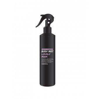 Pamswell Body Mist Lovely Musk - Глубокопитающий и увлажняющий  спрей с экстрактами растений и нежным ароматом парфюма