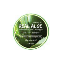 Real Aloe Soothing Gel - Глубокоувлажняющий, питающий и успокаивающий гель для тела с высокой концентарцией Алоэ вера и экстрактами трав
