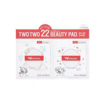 Wish Formula Two Two 22 beauty pad - глубоко очищающие, интенсивно питающие и увлажняющие диски для лица
