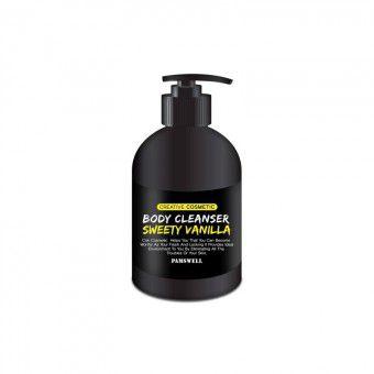 Pamswell Body Cleanser Sweety Vanilla - Увлажняющий, очищающий и питающий гель для душа