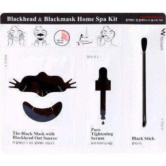 Wish Formula Blackhead & Blackmask Home Spa Kit (single) - Очищающий комплекс против черных точек