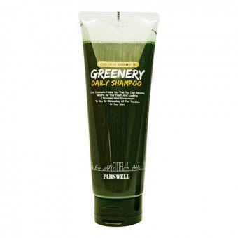 Pamswell Greenery Daily Shampoo - Восстанавливающий и укрепляющий шампунь для волос
