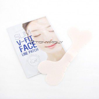 TonyMoly Slim V Fit Face Line Patch - Маска для контура лица