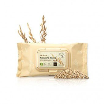 Big Brother Sprouted Brown Rice Cleansing Tissue - Влажные салфетки