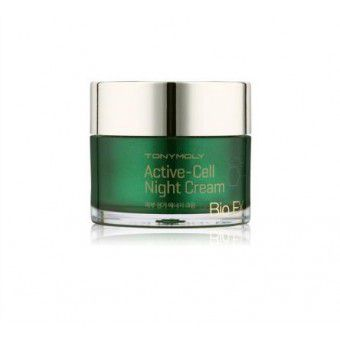 TonyMoly Bio EX Active Cell Night Cream -  Крем ночной антивозрастной