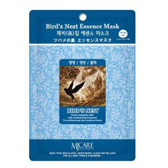 Mijin Bird`s Nest Essence Mask - Маска против морщин