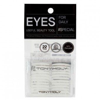 TonyMoly Eyelash Tape Both Sides - Двухсторонний скотч для создания второго века
