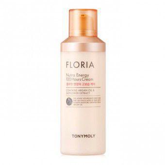 TonyMoly Floria Nutra Energy 100 Hours Cream (100 ml) - Интенсивно восстанавливающий крем для лица с аргановым маслом