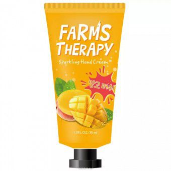 "Doori Cosmetics Farms Therapy Sparkling Hand Cream (Mango) - Крем для рук ""Манго"""