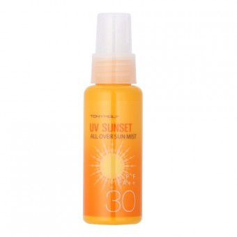 TonyMoly Uv Sunset All Over Sun Mist - Спрей солнцезащитный