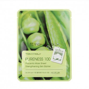 TonyMoly Pureness 100 Placenta Mask Sheet - Маска плацентарная