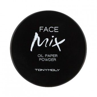 TonyMoly Face Mix Oil Paper Powder - Матирующая пудра