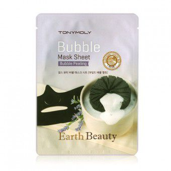 TonyMoly Earth Beauty Bubble Mask Sheet -  Маска пузырьковая