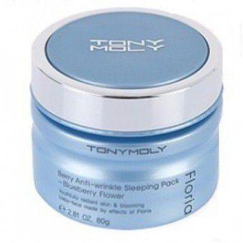TonyMoly Floria Berry Anti Wrinkle Sleeping Pack - Ночная антивозрастная крем-маска