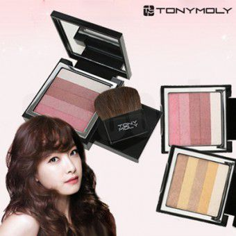 TonyMoly Shimmer Lover Cube 05 Gold - Румяна-тени-шиммер