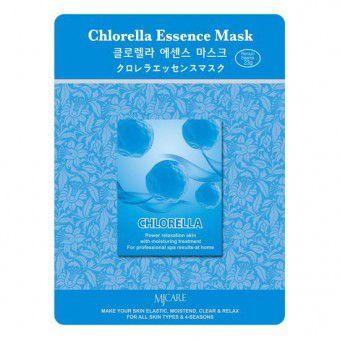 Mijin Chlorella Essence Mask - Маска успокаивающая