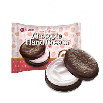 The Saem Chocopie Hand Cream Strawberry - Крем для рук