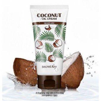 Secret Key Coconut Oil Cream Never Dry - Питательный крем