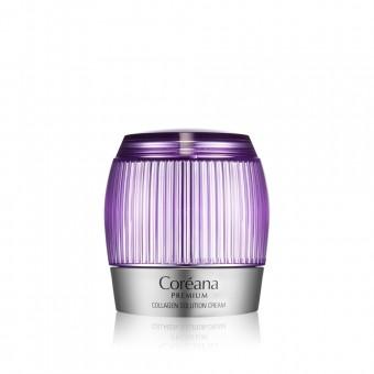 Coreana Premium Collagen Solution Cream - Крем с коллагеном