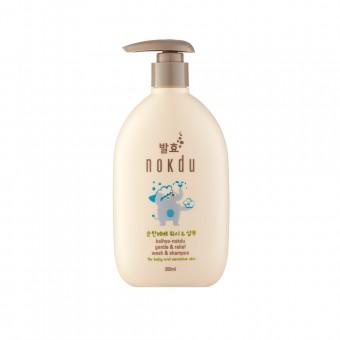 Balhyo Nokdu Gentle&Relief Wash Shampoo - Шампунь с мягким и успокаивающим действием для чувствительной кожи