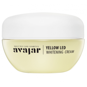 Avajar Yellow LED Whitening Cream (Main) - Депигментирующий увлажняющий крем
