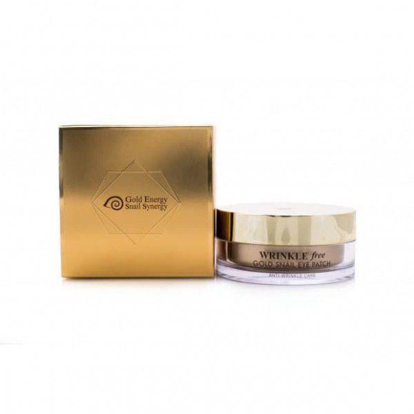 Gold Snail Eye Patch Wrinkle Free - Гидрогелевые патчи для глаз с муцином улитки против морщин