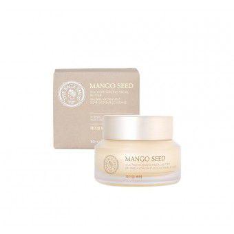 The Face Shop Mango Seed Silk Moisturizing Facial Butter - Увлажняющий крем для лица с семенами манго 50 мл.