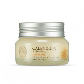The Face Shop Calendula Essentials Moisture Cream - Увлажняющий крем с календулой
